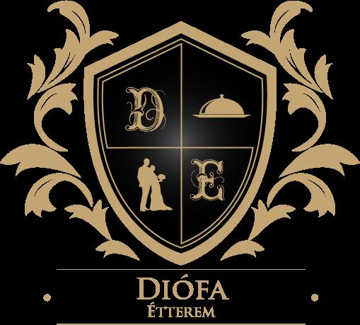 Diófa Étterem és Rendezvényház logo